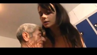 British, Daddy, Double Penetration, Fucking, Grannies, Gym