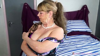 Amateur, Big Boobs, Grannies, Mature, MILF, Solo, Strip