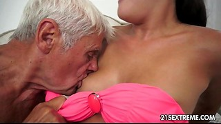Babe, Blowjob, Cumshot, Daddy, Facial, Fingering, Fucking, Grannies, Kissing, Mature, Old and young, Teen